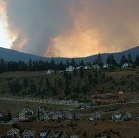 La casa forest fire