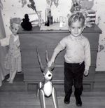 Charles with bambi 1966-67 b