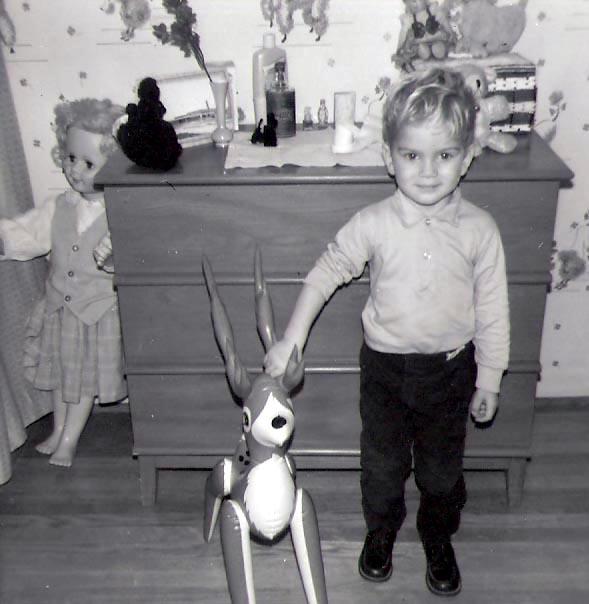 Charles with bambi 1966-67 b