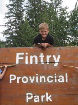 Seb at fintry - 2011