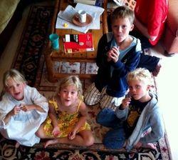 Fintry 2011 - kids