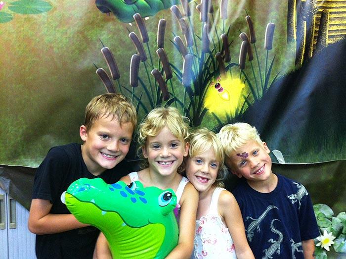 Kids at vbs - aug 2011 b