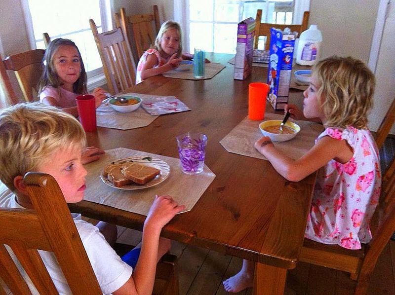 Breakfast - july 2012