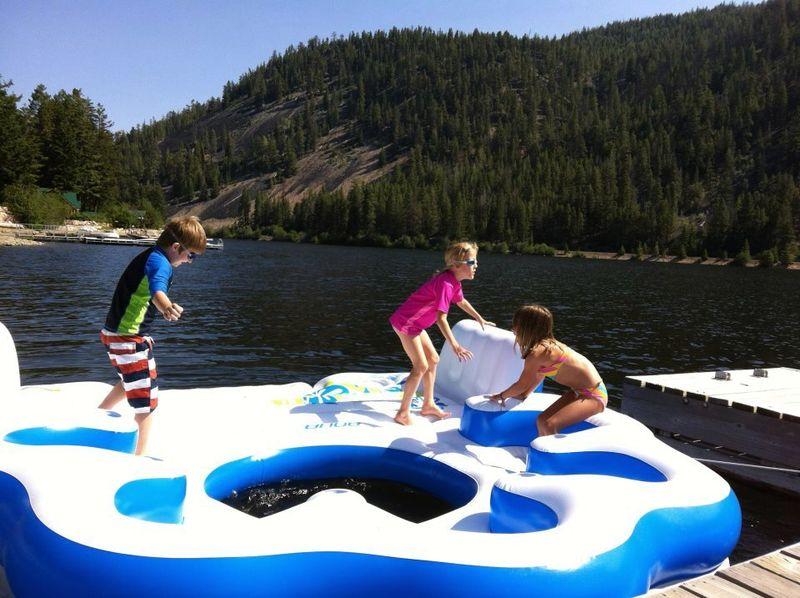 Carys on float - jul 2012