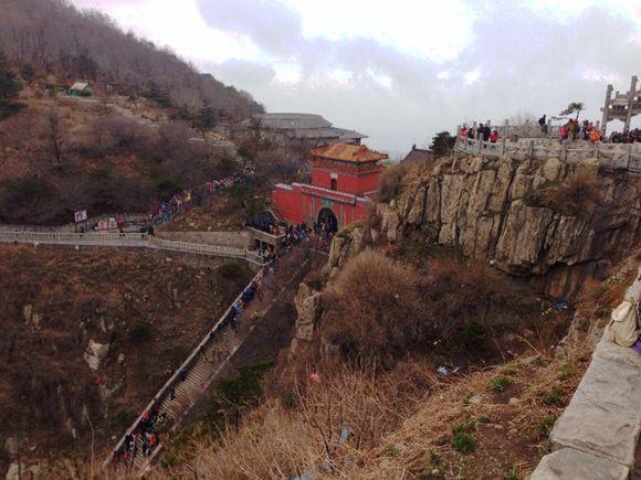 Views of Tai Mountain