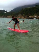 Seb - surfing 1 may 2013