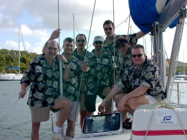 Antigua crew