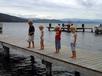 Aug07_kids_on_dock
